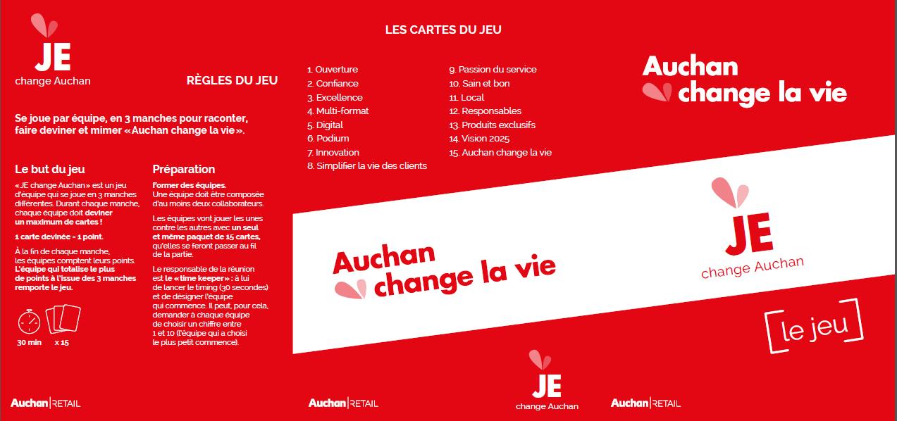 Carte Auchan Retail.3 Association Francaise Communication Interne
